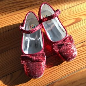 Other - Ruby red glitter heels